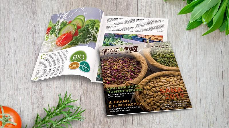 Sicilia in Bio Magazine biologico siciliano