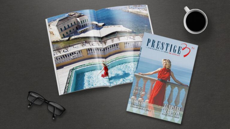 Prestige, magazine gruppo Bulgarella Lorena Cacciatore