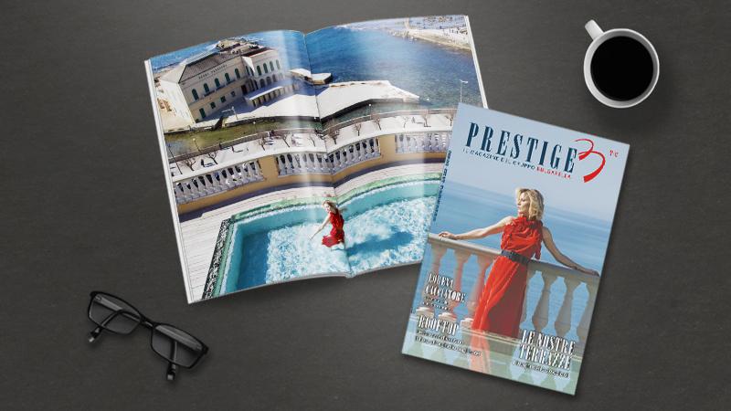 Prestige, il magazine del Gruppo Bulgarella: nel secondo numero protagoniste le terrazze